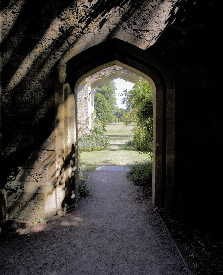 glouce för slottcotswoldsgodset jordniner sudeleywinchcombe arkivfoto