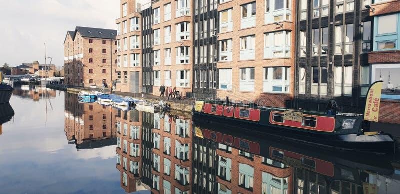 Gloucester Docks stockfoto