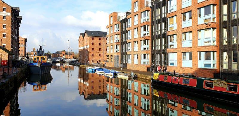 Gloucester Docks stockfotografie
