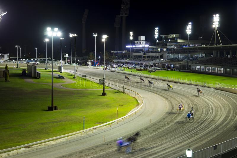 Gloucester Park Racing Course. Perth - Australia royalty free stock photography