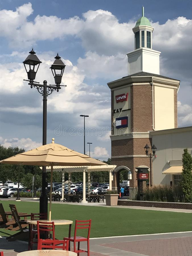 Gloucester Premium Outlets in Blackwood, New Jersey. USA royalty free stock photos