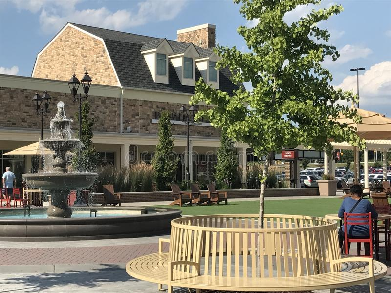 Gloucester Premium Outlets in Blackwood, New Jersey. USA stock photos