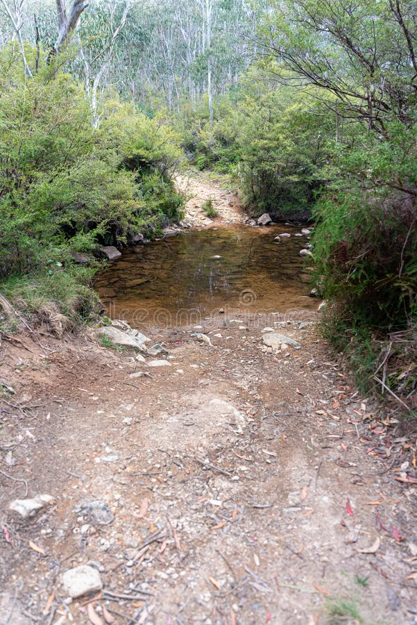 Gloucester River australia , 4x4 strada immagini stock