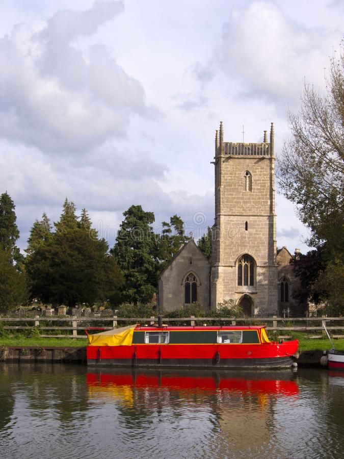 Gloucestershire pittoresque - Frampton-sur-Severn photo stock
