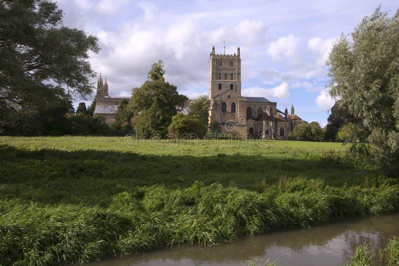 Gloucestershire - Tewkesbury pintorescos imagenes de archivo