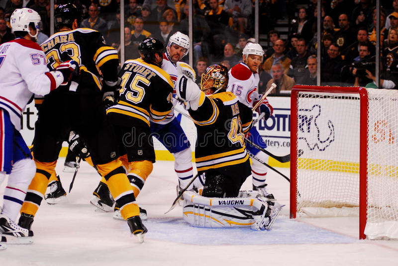 Glove Save Tuukka Rask.