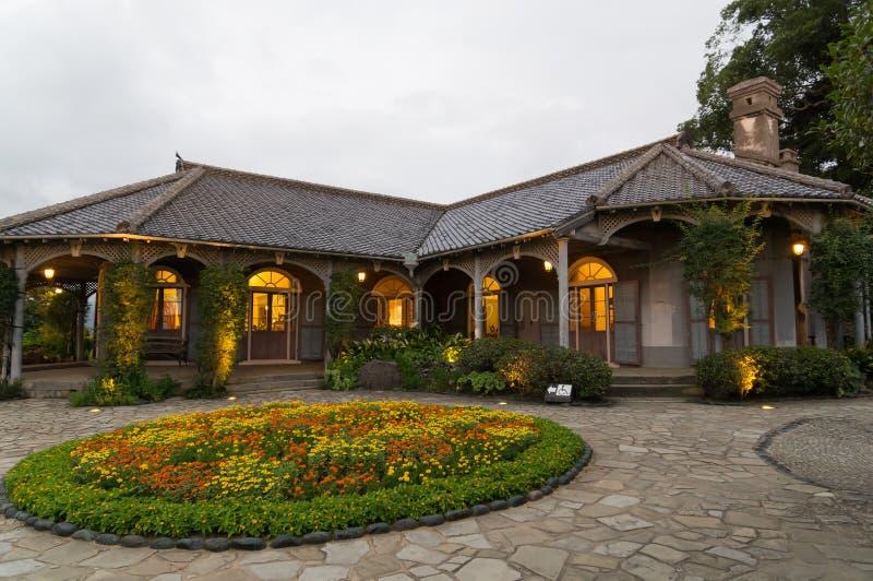 Glover House em Nagasaki, Japão imagem de stock royalty free