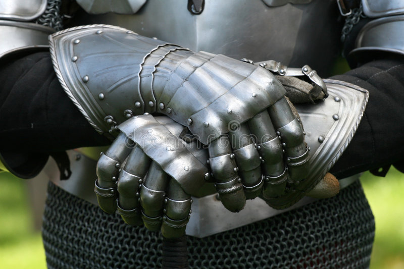 Download Gloves Of A Knight Stock Images - Image: 5136924