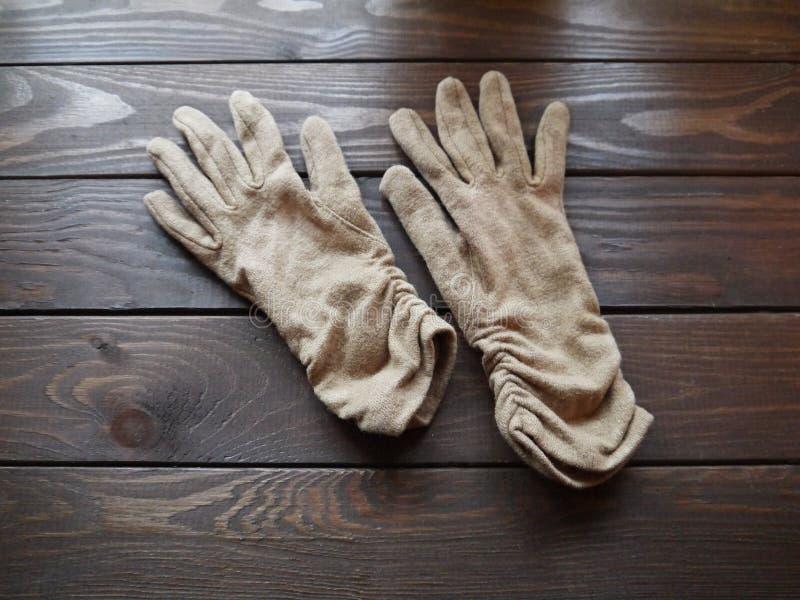 Gloves royalty free stock photos