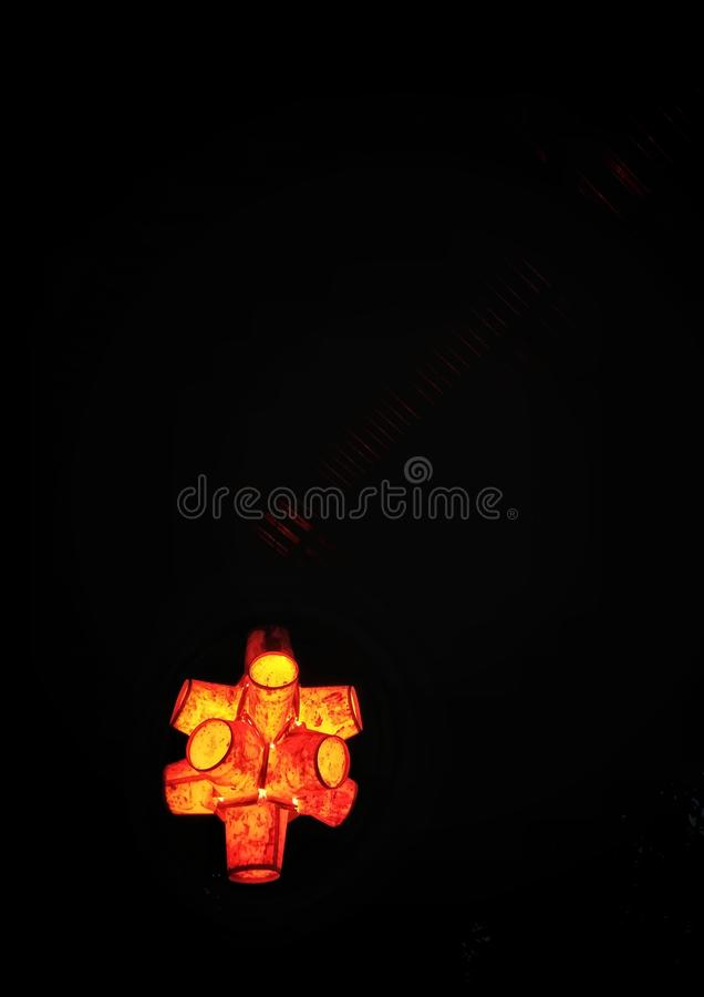 Glow stock illustration