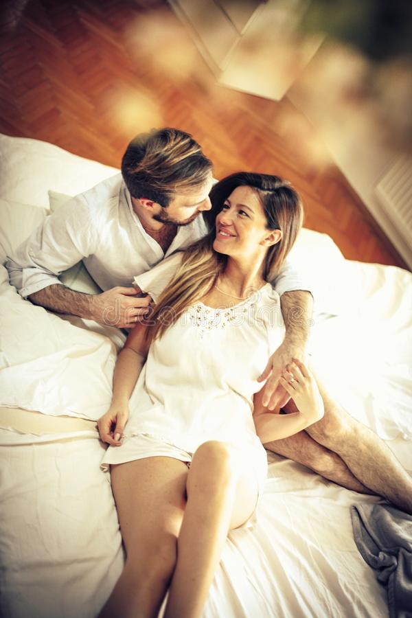 Glow of love. stock photography