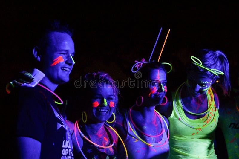 Download Glow Run Port Elizabeth 2014 South Africa Editorial Photo - Image: 39735291