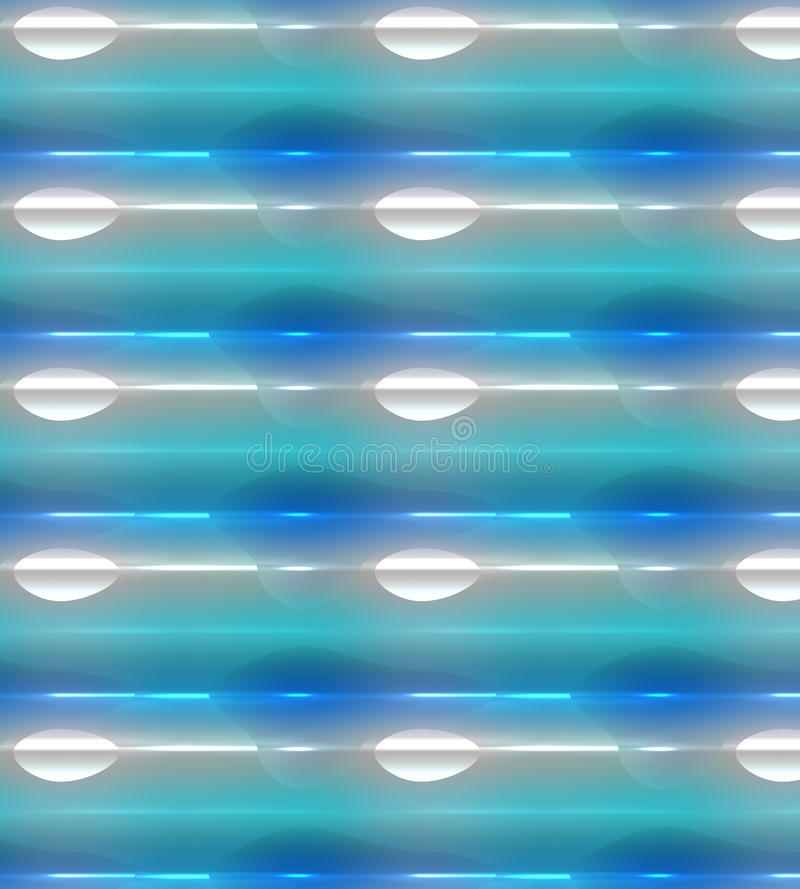 Glowing background, colorful blue, green and white royalty free illustration