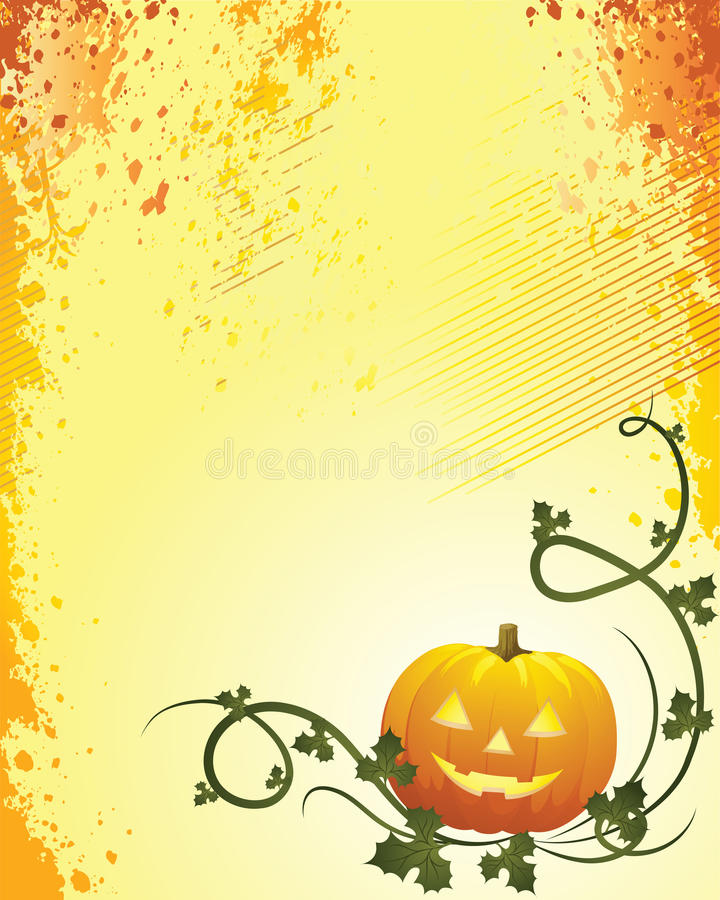 A Glowing Background for Halloween royalty free stock photo