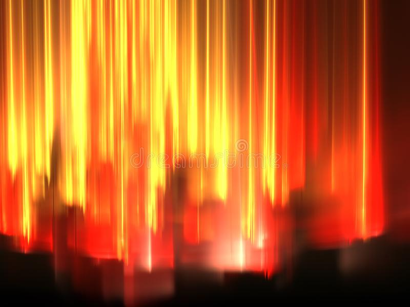Glowing background with stripes - abstract digitally generated i royalty free stock photos
