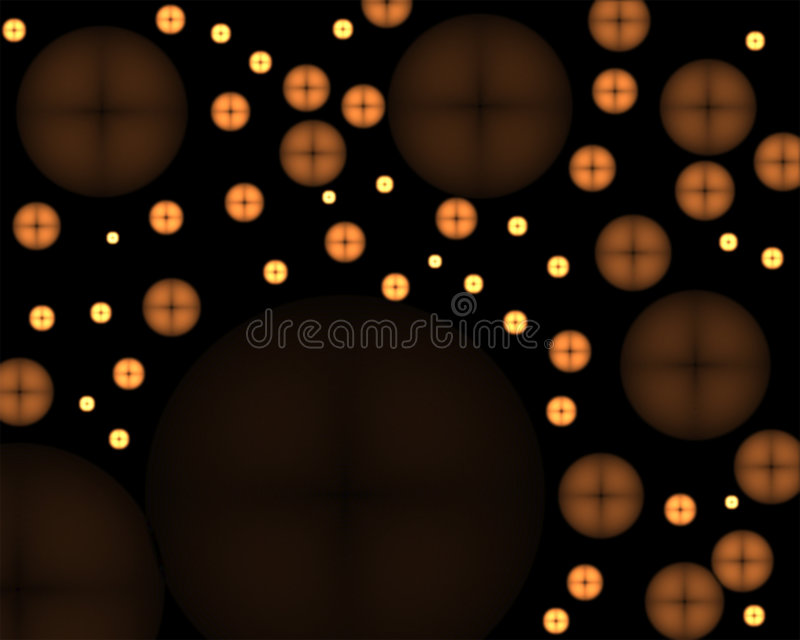 Glowing Buttons Abstract royalty free stock photos