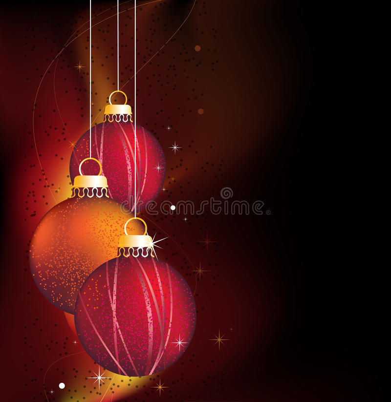 Free Glowing Christmas Background Royalty Free Stock Photo - 22595715