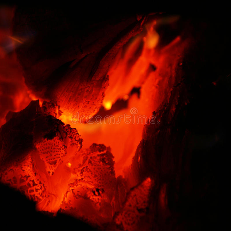 Free Glowing Coals Stock Image - 16140921