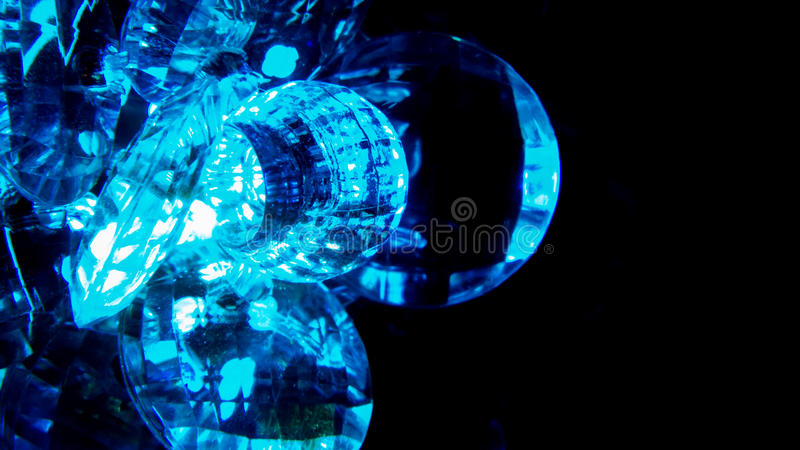Glowing crystal royalty free stock photography