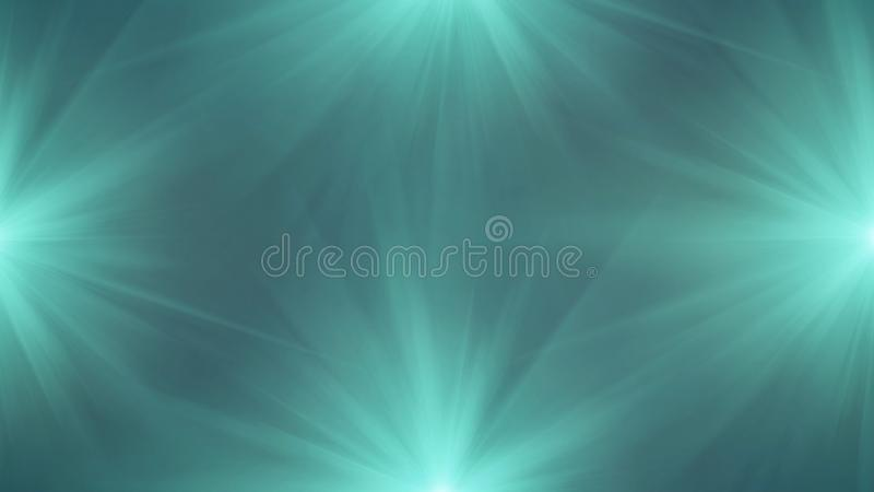 Glowing disco lights background. Colorful stage spotlight winking royalty free illustration
