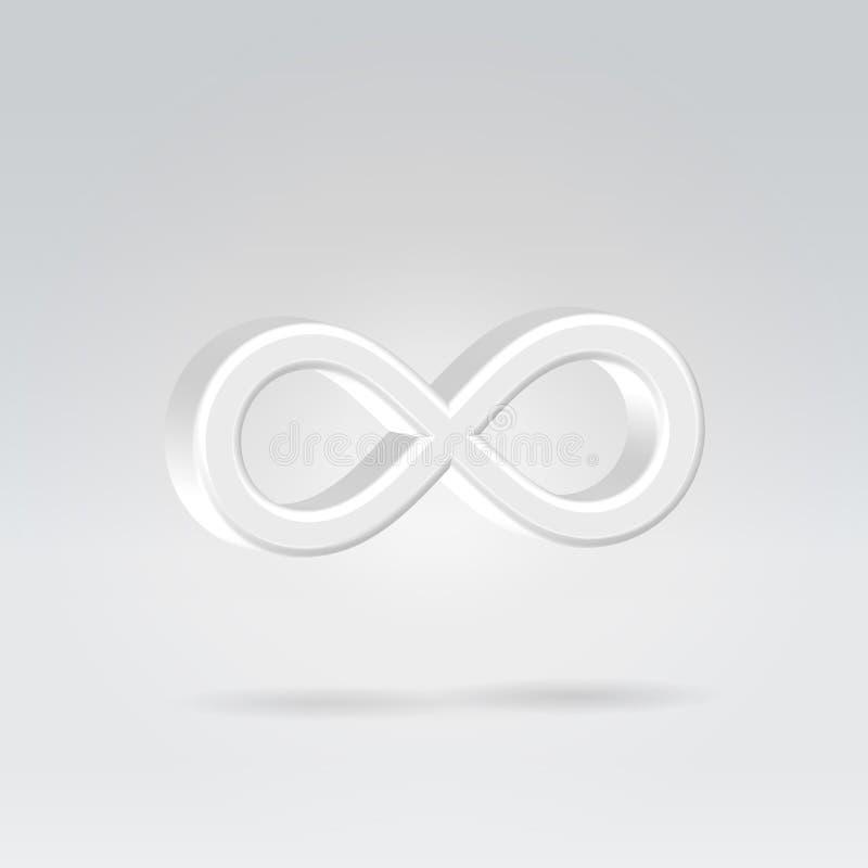 Download Glowing Eternity Symbol Royalty Free Stock Image - Image: 24729676