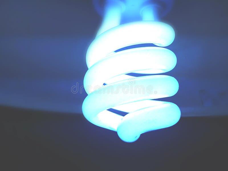 Glowing fluorescent light
