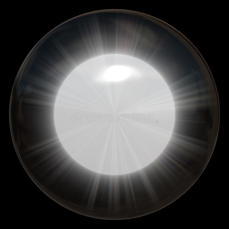 Free Glowing Glass Sphere Royalty Free Stock Photos - 9980108
