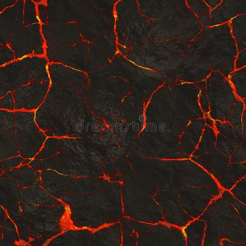 Glowing lava texture royalty free stock photo