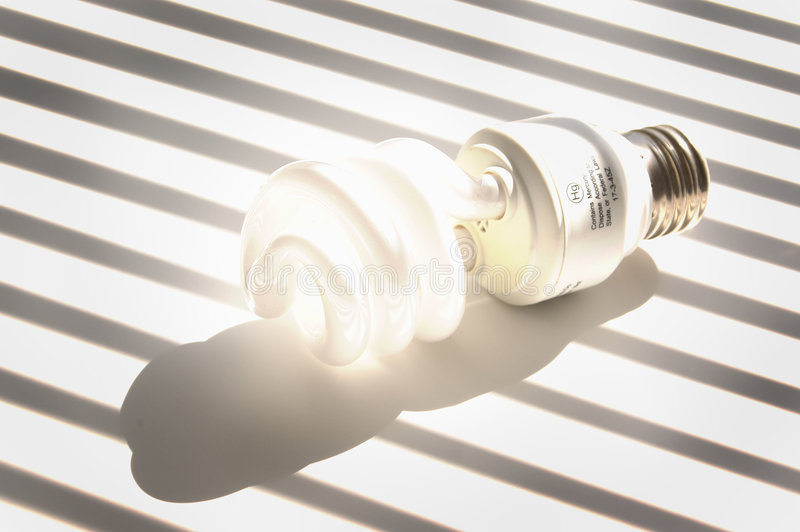 Download Glowing Light Bulb Royalty Free Stock Photography - Image: 438717
