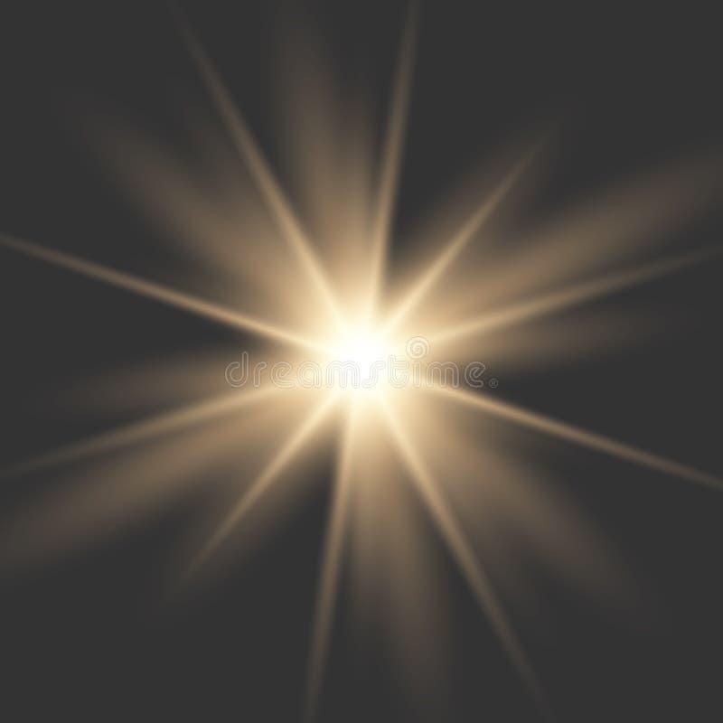 Free Glowing Light Burst Explosion Royalty Free Stock Image - 140239856