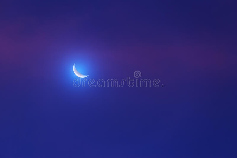 Download Glowing Moon Royalty Free Stock Image - Image: 27096256