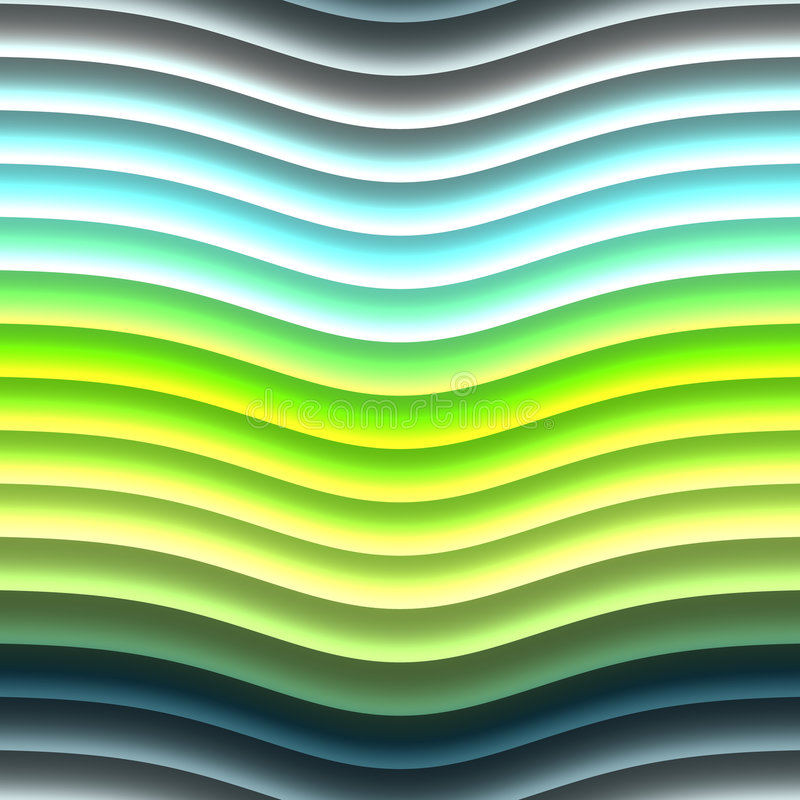 Glowing Neon Lines Royalty Free Stock Photos