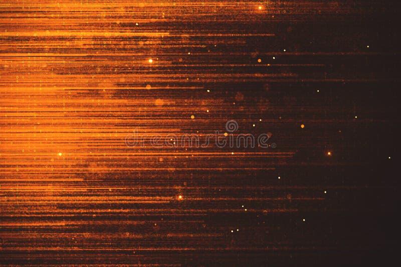Glowing orange sparkles backdrop. Creative glowing orange sparkles backdrop. Celebration concept vector illustration