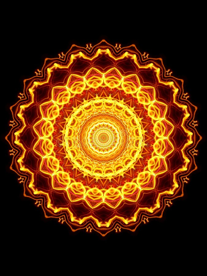 glowing pattern απεικόνιση αποθεμάτων