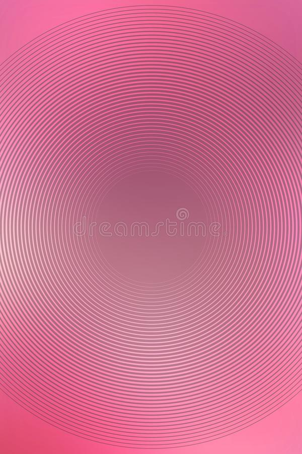 Glowing pink circle gradient light. ring purpple. Glowing pink circle gradient light abstract copy. ring purpple stock illustration