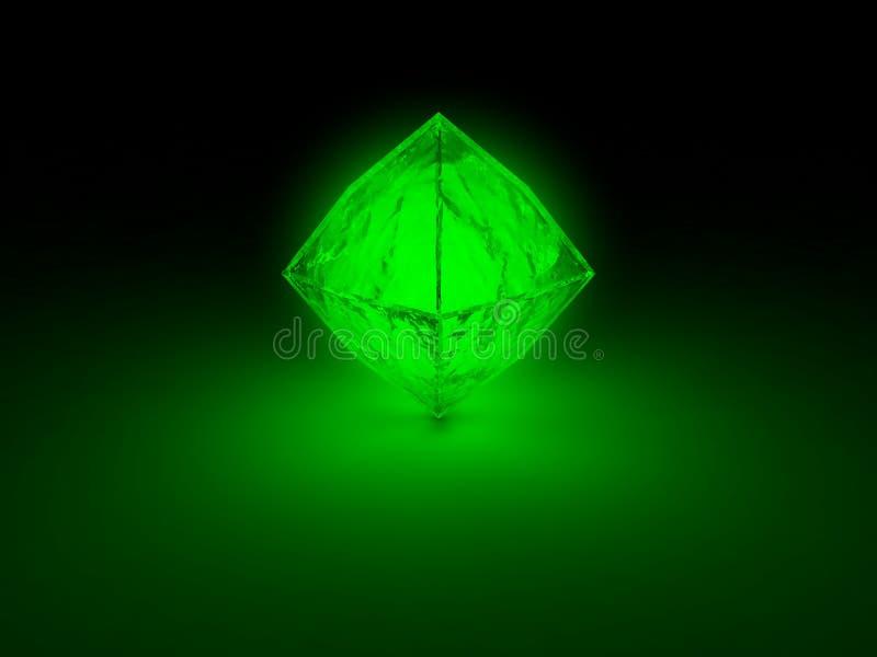 Download Glowing prism stock illustration. Illustration of night - 37665039