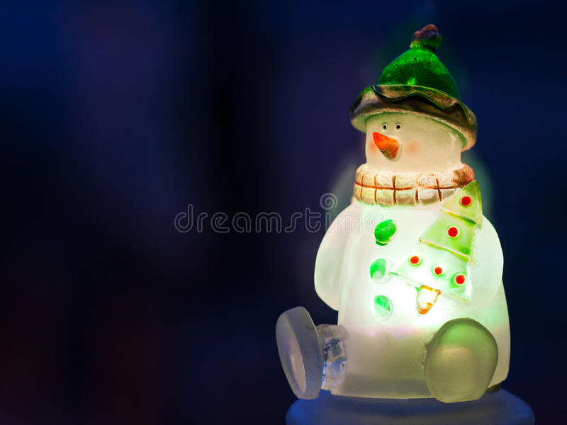 Download Glowing Snowman Stock Photo - Image: 22710830