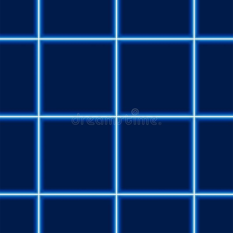 Download Glowing Squared Pattern stock vector. Image of repetitive - 25053160
