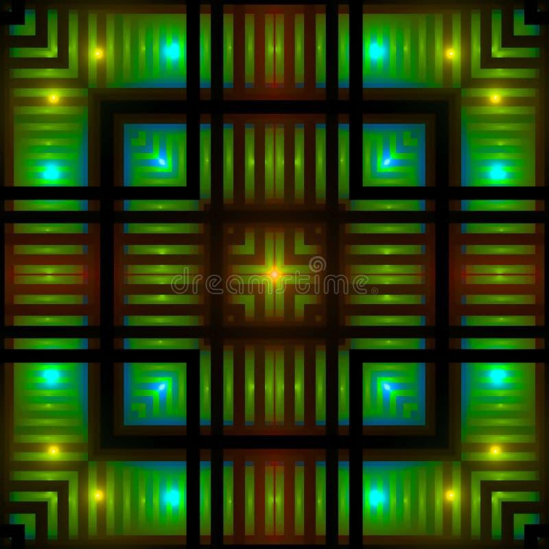 Free Glowing Squares Royalty Free Stock Photos - 4220068