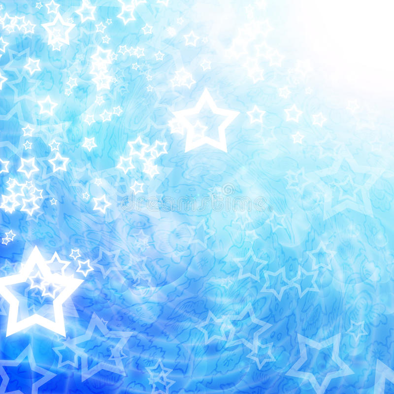 Download Glowing stars stock illustration. Illustration of glowing - 20408550
