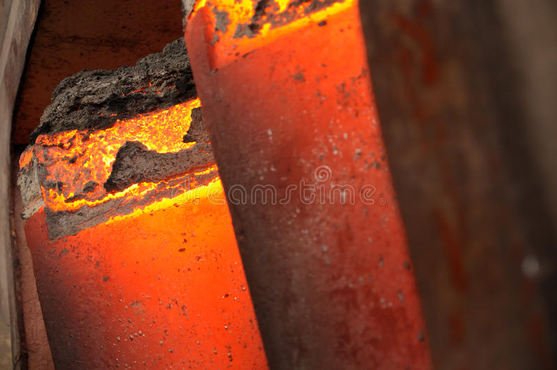 Download Glowing steel stock photo. Image of business, orange - 12023214