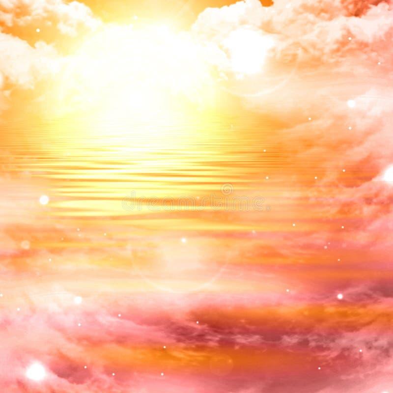 Free Glowing Sunset Royalty Free Stock Photo - 10209335