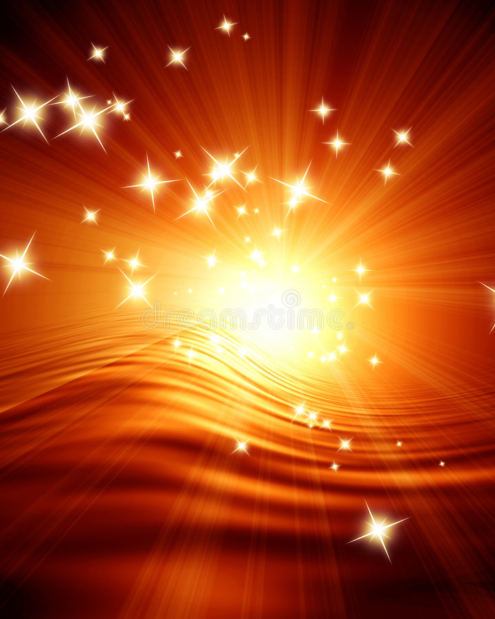 Free Glowing Sunset Stock Photography - 6243292
