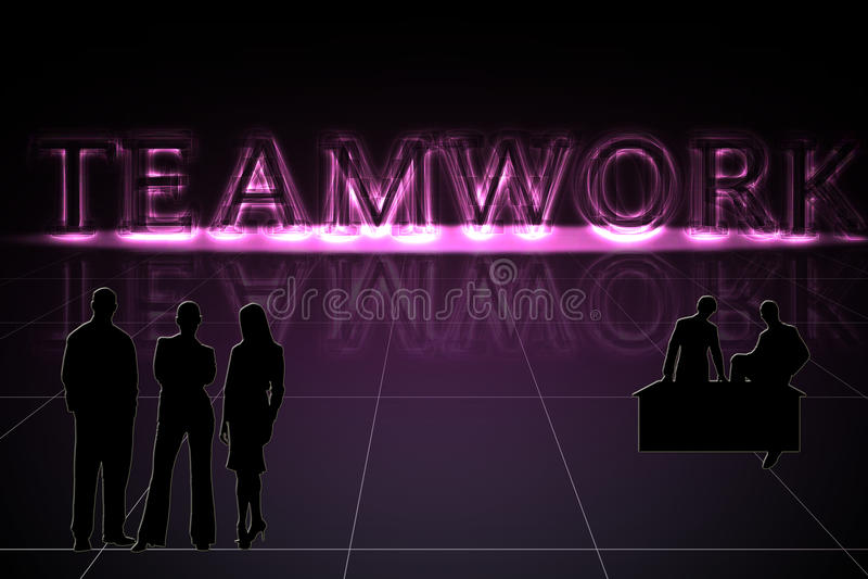 Glowing Teamwork