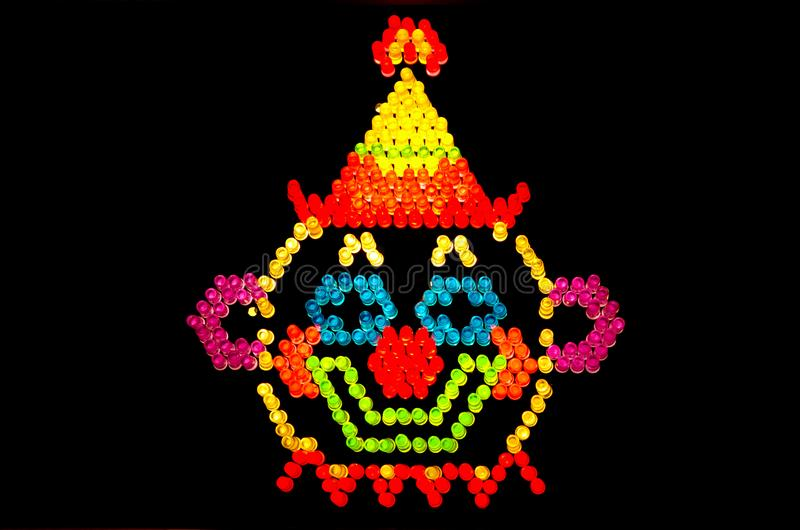 Glown royalty free stock image