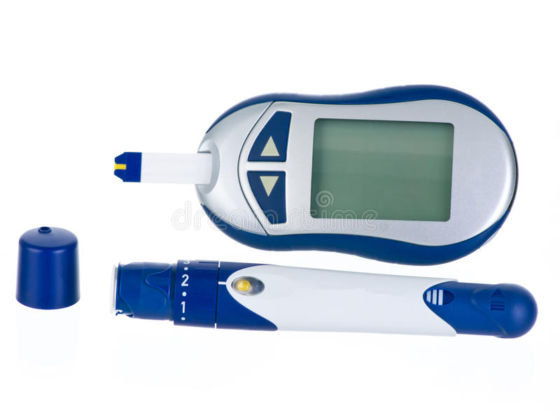 Download Glucometer stock image. Image of glucose, diet, analysis - 19627581