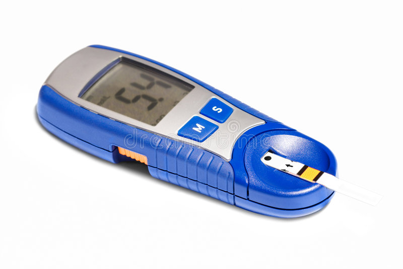 Glucometer images stock