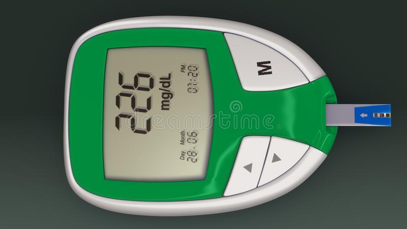 Glucometer stock images
