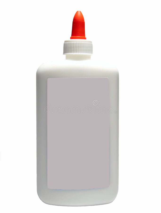Glue bottle royalty free stock photo