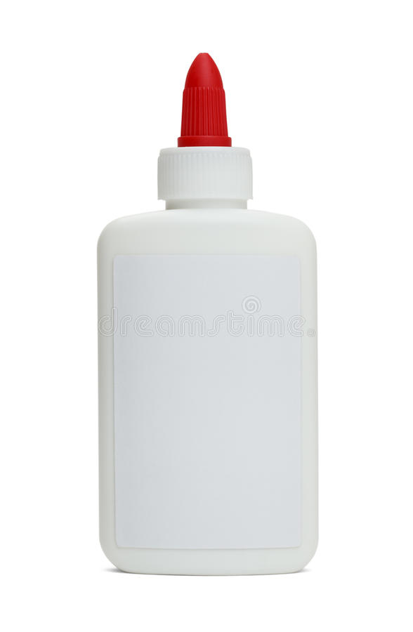 Glue Bottle stock photos